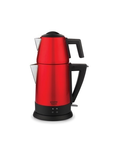 Schafer Teepoint Elektrikli Çay Makinesi - Kmz01 Kırmızı
